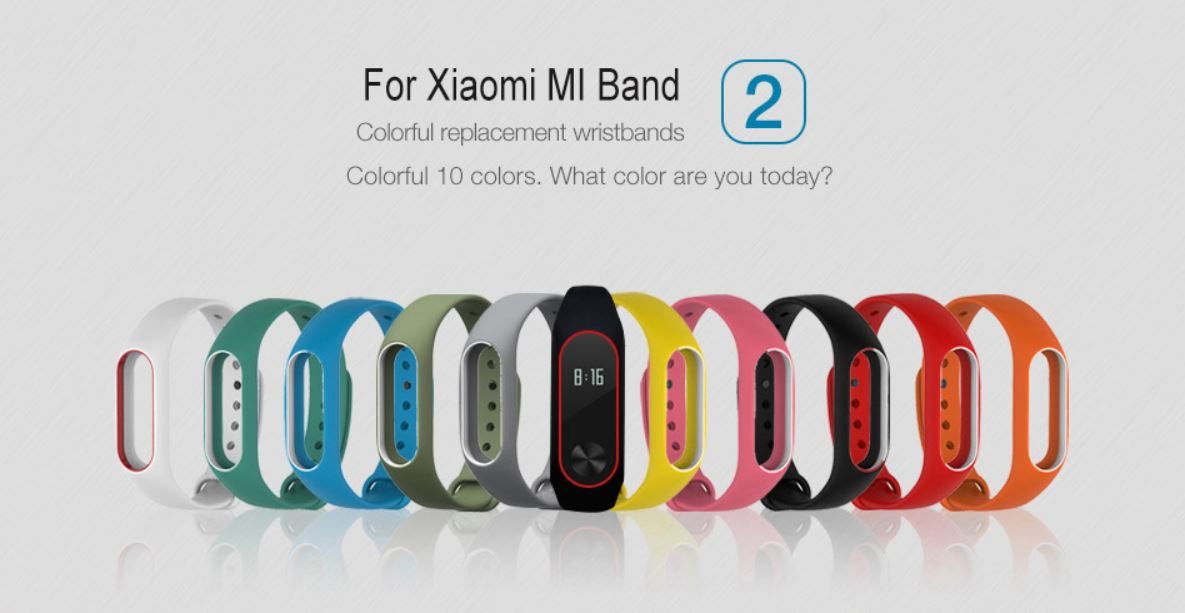 Look Cool With These Trendy Xiaomi Mi Band Wristbands!