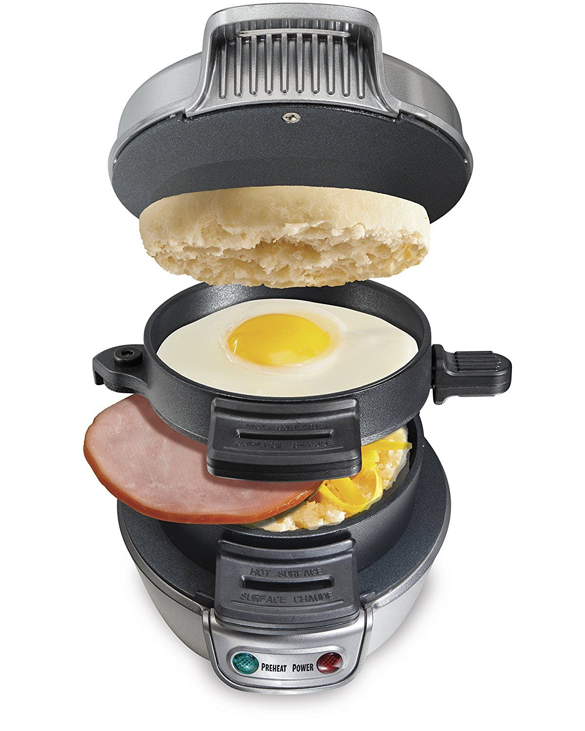 Grab and Go with your fresh breakfast through Breakfast Sandwich Maker