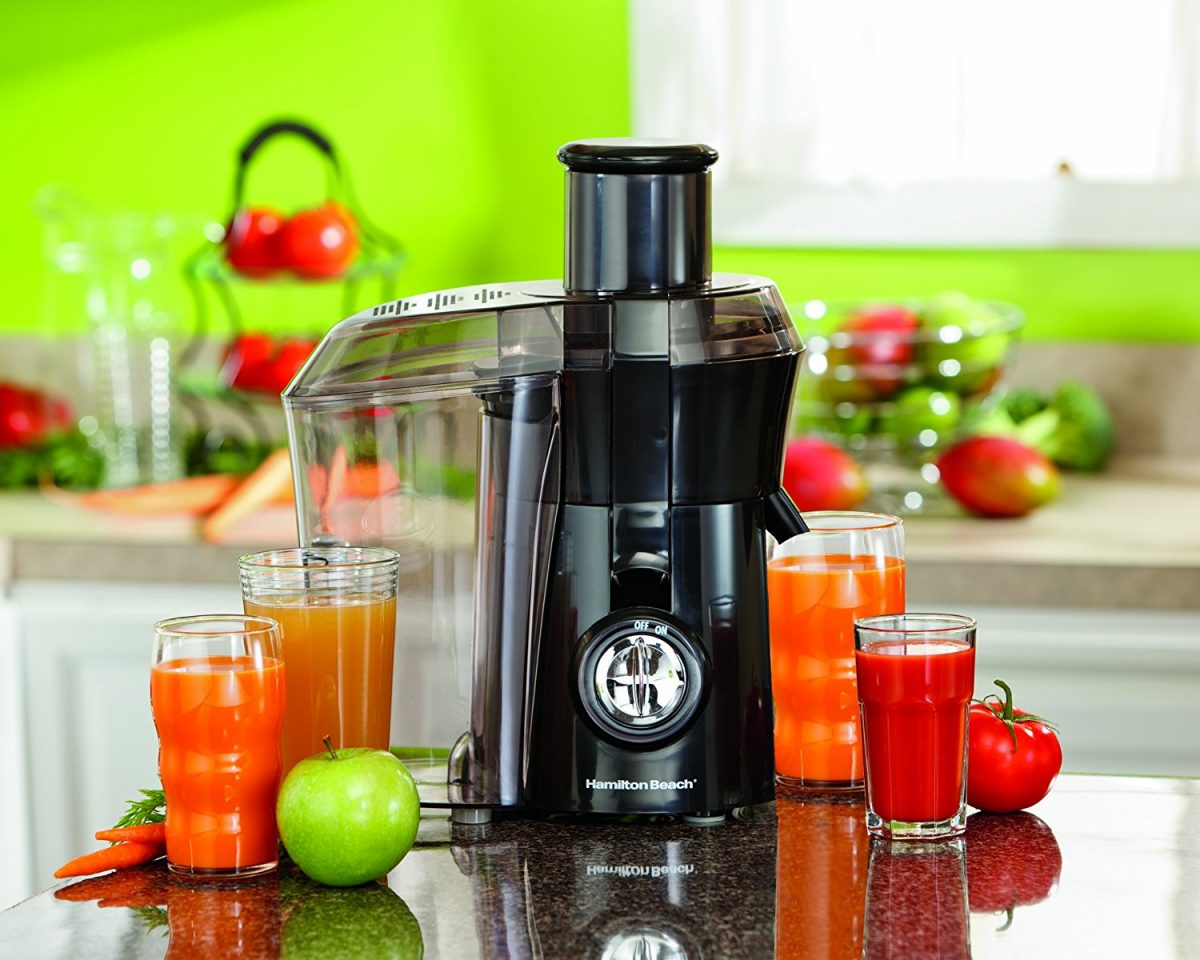 Juice out from fruits and vegetables with Juice Extractor