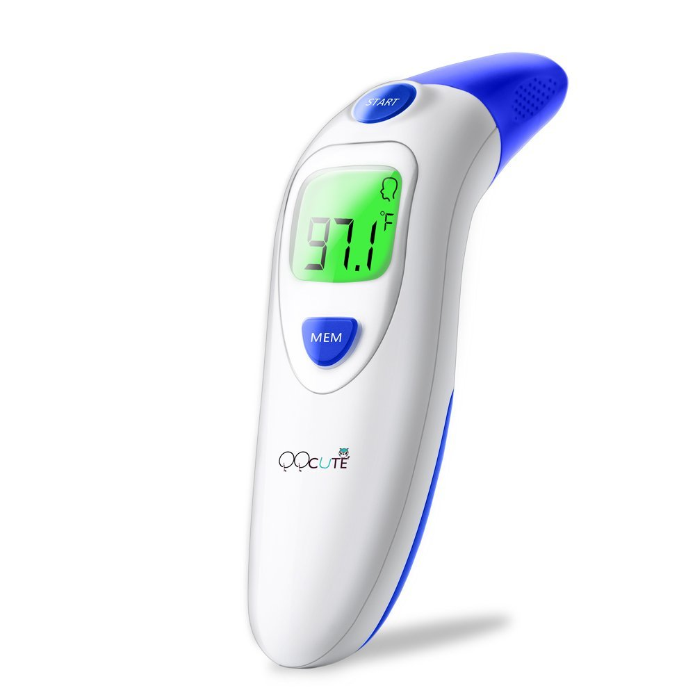 Digital Forehead Thermometer: Instant Temperature Reading