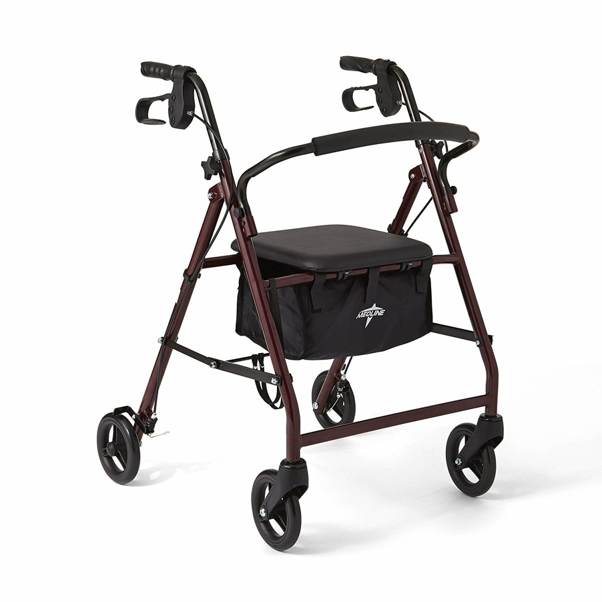 Steel-made and Foldable Rollator Walker – The Ideal Walking Aid
