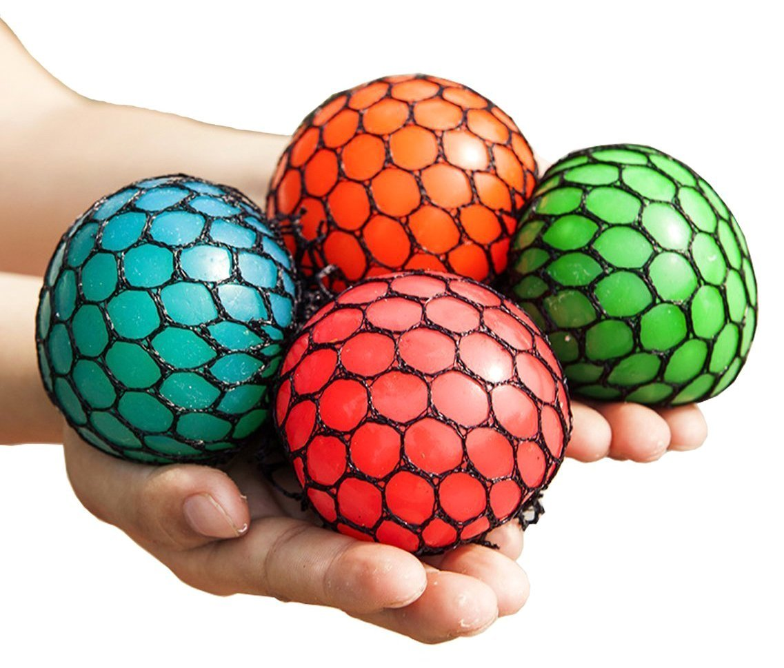 Feel Relief With These Super Squishy Stress Toys