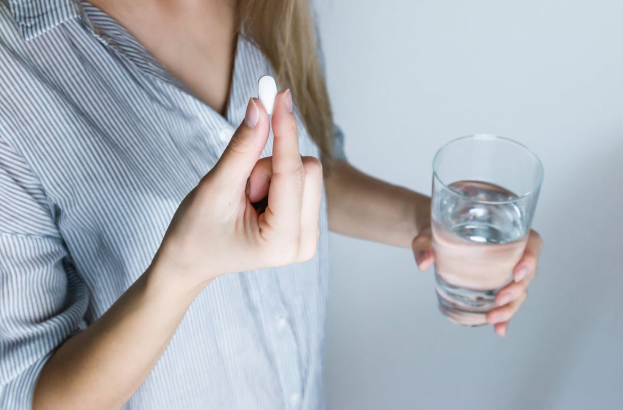 taking paracetamol